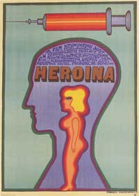 Heroin - 27 x 40 Movie Poster - Polish Style A