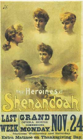 Heroines Of Shenandoah, The (Broadway) - 14 x 22 Poster - Style A