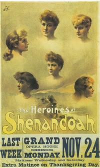 Heroines Of Shenandoah, The (Broadway) - 11 x 17 Poster - Style A