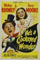 He's a Cockeyed Wonder - 27 x 40 Movie Poster - Style A