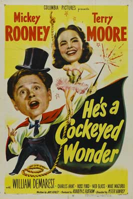 He's a Cockeyed Wonder - 11 x 17 Movie Poster - Style A