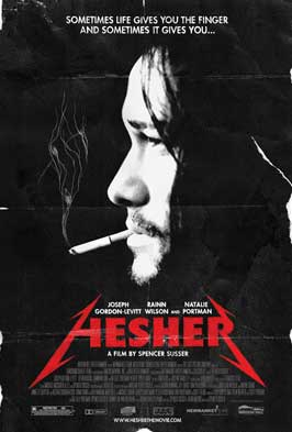 Hesher - 43 x 62 Movie Poster - Bus Shelter Style A