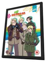 Hetalia: Axis Powers (TV) - 11 x 17 Movie Poster - UK Style A - in Deluxe Wood Frame