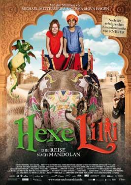 Hexe Lilli: Die Reise nach Mandolan - 27 x 40 Movie Poster - German Style A