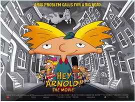 Hey Arnold! The Movie - 11 x 17 Movie Poster - Style B
