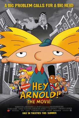 Hey Arnold! The Movie - 27 x 40 Movie Poster - Style A