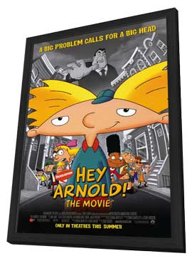 Hey Arnold! The Movie - 11 x 17 Movie Poster - Style A - in Deluxe Wood Frame