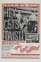 Hey, Let's Twist! - 27 x 40 Movie Poster - Style A