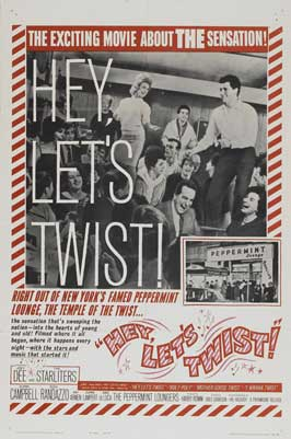 Hey, Let's Twist! - 11 x 17 Movie Poster - Style A