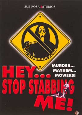 Hey, Stop Stabbing Me! - 11 x 17 Movie Poster - Style A