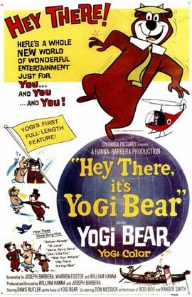 Hey There, It's Yogi Bear - 11 x 17 Movie Poster - Style A