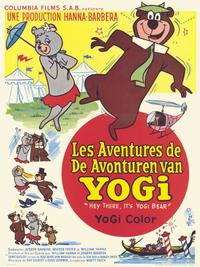 Hey There, It's Yogi Bear - 11 x 17 Movie Poster - Belgian Style A