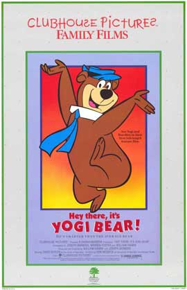 Hey There, It's Yogi Bear - 11 x 17 Movie Poster - Style B