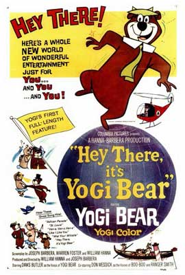 Hey There, It's Yogi Bear - 27 x 40 Movie Poster - Style A