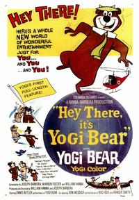Hey There, It's Yogi Bear - 43 x 62 Movie Poster - Bus Shelter Style A
