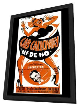 Hi-De-Ho - 11 x 17 Movie Poster - Style A - in Deluxe Wood Frame