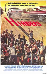 Hi-Riders - 11 x 17 Movie Poster - Style A