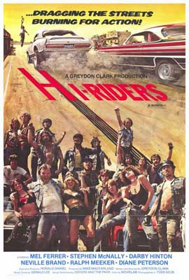 Hi-Riders - 27 x 40 Movie Poster - Style A