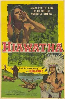 Hiawatha - 11 x 17 Movie Poster - Style A