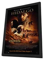 Hidalgo - 11 x 17 Movie Poster - Style B - in Deluxe Wood Frame