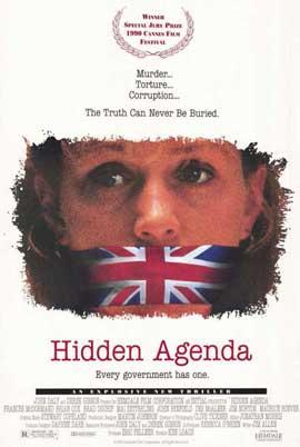 Hidden Agenda - 11 x 17 Movie Poster - Style A