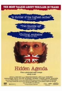Hidden Agenda - 27 x 40 Movie Poster - Style B