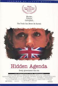 Hidden Agenda - 27 x 40 Movie Poster - Style A
