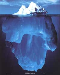 Hidden Depths - Photography Poster - 16 x 20 - Style A
