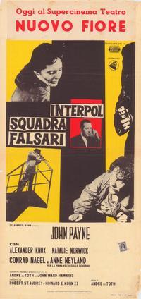 Hidden Fear - 27 x 40 Movie Poster - Italian Style A