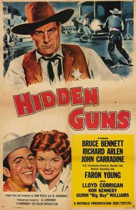 Hidden Guns - 11 x 17 Movie Poster - Style A