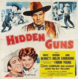 Hidden Guns - 30 x 30 Movie Poster - Style A