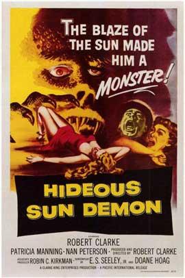 Hideous Sun Demon - 11 x 17 Movie Poster - Style A