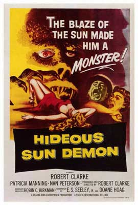 Hideous Sun Demon - 27 x 40 Movie Poster - Style A