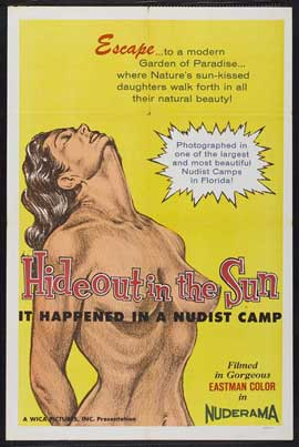 Hideout in the Sun - 11 x 17 Movie Poster - Style A