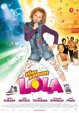 Hier kommt Lola! - 11 x 17 Movie Poster - German Style A
