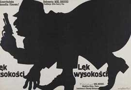 High Anxiety - 27 x 40 Movie Poster - Polish Style A