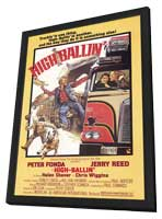 High Ballin' - 11 x 17 Movie Poster - Style A - in Deluxe Wood Frame
