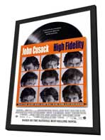 High Fidelity - 27 x 40 Movie Poster - Style A - in Deluxe Wood Frame