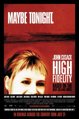 High Fidelity - 11 x 17 Movie Poster - Style D