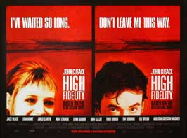 High Fidelity - 11 x 17 Movie Poster - UK Style C