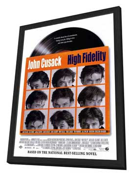 High Fidelity - 11 x 17 Movie Poster - Style A - in Deluxe Wood Frame