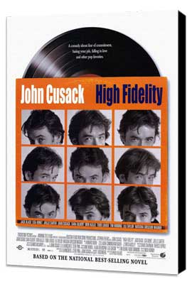 High Fidelity - 27 x 40 Movie Poster - Style A - Museum Wrapped Canvas