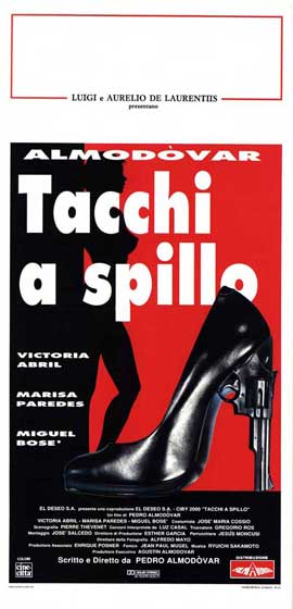 High Heels - 13 x 28 Movie Poster - Italian Style A