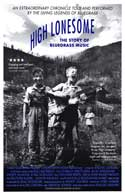 High Lonesome: The Story of Bluegrass Music - 11 x 17 Movie Poster - Style A