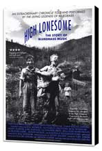 High Lonesome: The Story of Bluegrass Music - 11 x 17 Movie Poster - Style A - Museum Wrapped Canvas