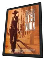 High Noon - 11 x 17 Movie Poster - Australian Style A - in Deluxe Wood Frame