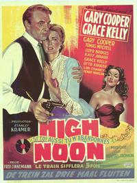 High Noon - 14 x 22 Movie Poster - Belgian Style A