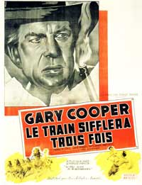 High Noon - 11 x 17 Movie Poster - French Style A