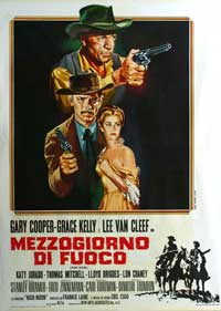 High Noon - 11 x 17 Movie Poster - Italian Style A