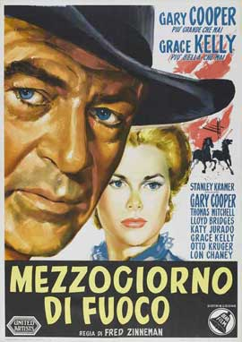 High Noon - 27 x 40 Movie Poster - Italian Style B